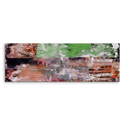 PaulSinusArt Enigma Panorama Abstrakt 918 Painting Print on Canvas