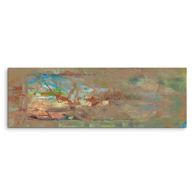PaulSinusArt Enigma Panorama Abstrakt 919 Painting Print on Canvas