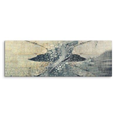PaulSinusArt Enigma Panorama Abstrakt 549 Painting Print on Canvas