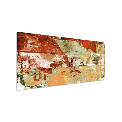 PaulSinusArt Enigma Panorama Abstrakt 920 Painting Print on Canvas