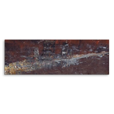 PaulSinusArt Enigma Panorama Abstrakt 921 Painting Print on Canvas