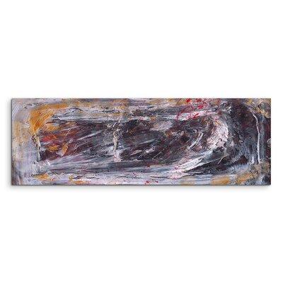PaulSinusArt Enigma Panorama Abstrakt 845 Painting Print on Canvas