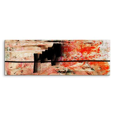 PaulSinusArt Enigma Panorama Abstrakt 847 Painting Print on Canvas