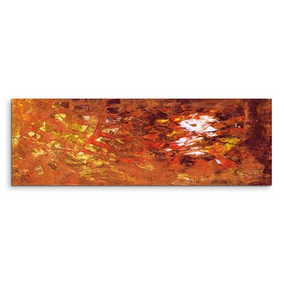 PaulSinusArt Enigma Panorama Abstrakt 849 Painting Print on Canvas