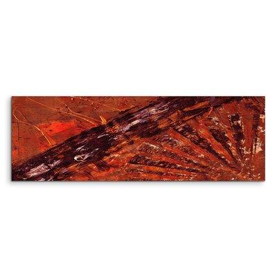 PaulSinusArt Enigma Panorama Abstrakt 850 Painting Print on Canvas