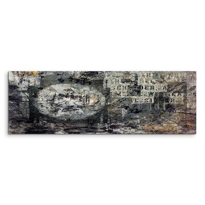 PaulSinusArt Enigma Panorama Abstrakt 922 Painting Print on Canvas