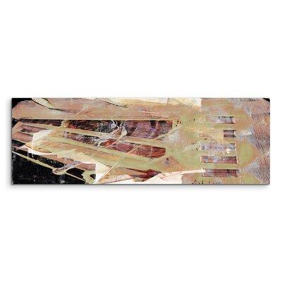 PaulSinusArt Enigma Panorama Abstrakt 744 Painting Print on Canvas