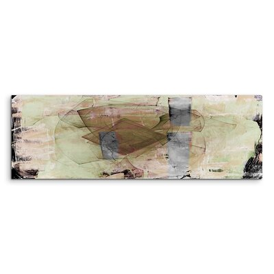 PaulSinusArt Enigma Panorama Abstrakt 746 Painting Print on Canvas