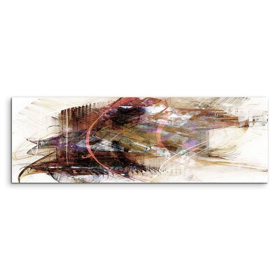 PaulSinusArt Enigma Panorama Abstrakt 749 Painting Print on Canvas