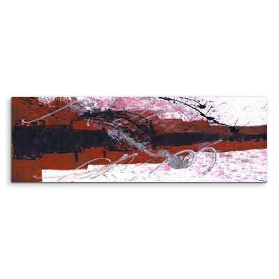 PaulSinusArt Enigma Panorama Abstrakt 925 Painting Print on Canvas