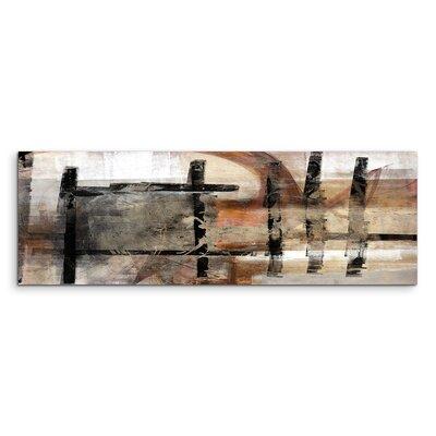 PaulSinusArt Enigma Panorama Abstrakt 751 Painting Print on Canvas