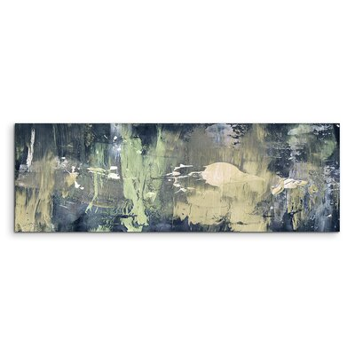 PaulSinusArt Enigma Panorama Abstrakt 753 Painting Print on Canvas