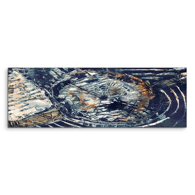 PaulSinusArt Enigma Panorama Abstrakt 855 Painting Print on Canvas