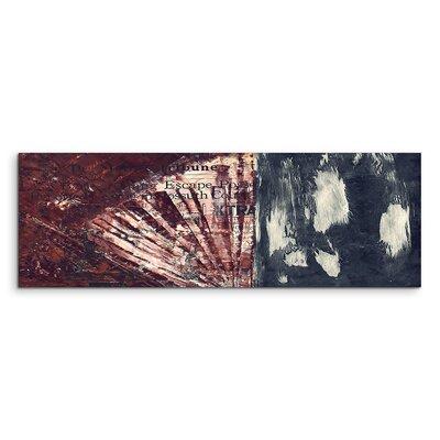 PaulSinusArt Enigma Panorama Abstrakt 856 Painting Print on Canvas
