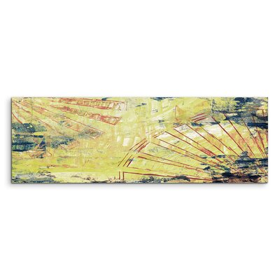 PaulSinusArt Enigma Panorama Abstrakt 857 Painting Print on Canvas