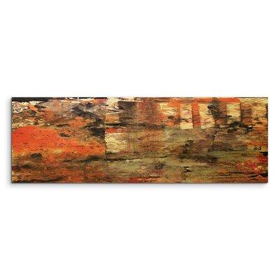 PaulSinusArt Enigma Panorama Abstrakt 982 Painting Print on Canvas
