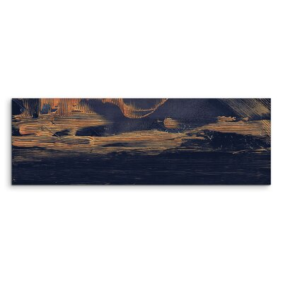 PaulSinusArt Enigma Panorama Abstrakt 983 Painting Print on Canvas