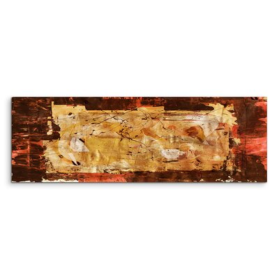 PaulSinusArt Enigma Panorama Abstrakt 754 Painting Print on Canvas