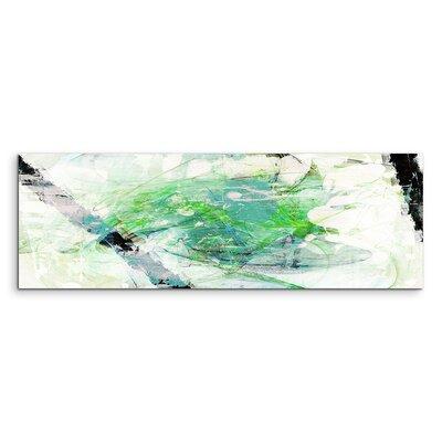 PaulSinusArt Enigma Panorama Abstrakt 763 Painting Print on Canvas