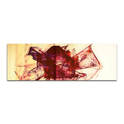 PaulSinusArt Enigma Panorama Abstrakt 213 Painting Print on Canvas
