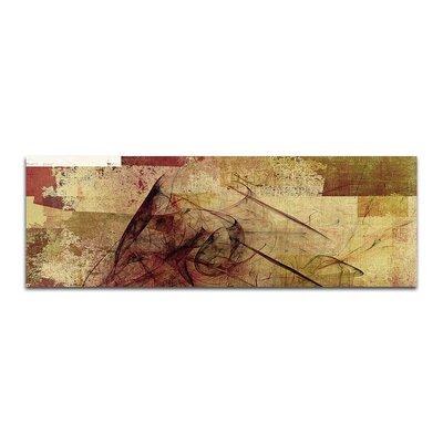PaulSinusArt Enigma Panorama Abstrakt 216 Painting Print on Canvas