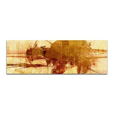 PaulSinusArt Enigma Panorama Abstrakt 217 Painting Print on Canvas