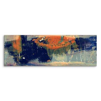 PaulSinusArt Enigma Panorama Abstrakt 989 Painting Print on Canvas