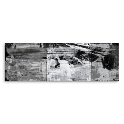 PaulSinusArt Enigma Panorama Abstrakt 990 Painting Print on Canvas