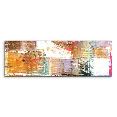 PaulSinusArt Enigma Panorama Abstrakt 992 Painting Print on Canvas