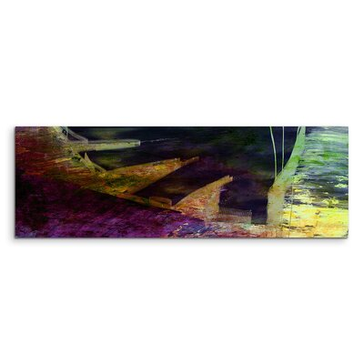 PaulSinusArt Enigma Panorama Abstrakt 993 Painting Print on Canvas