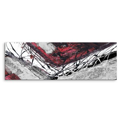 PaulSinusArt Enigma Panorama Abstrakt 764 Painting Print on Canvas