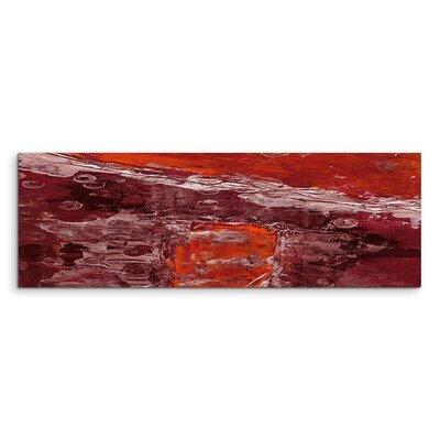 PaulSinusArt Enigma Panorama Abstrakt 765 Painting Print on Canvas