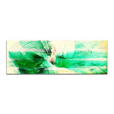 PaulSinusArt Enigma Panorama Abstrakt 222 Painting Print on Canvas