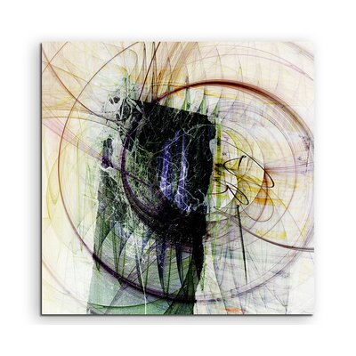 PaulSinusArt Enigma Abstrakt 1307 Painting Print on Canvas