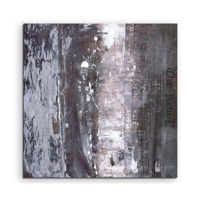 PaulSinusArt Enigma Abstrakt 623 Painting Print on Canvas