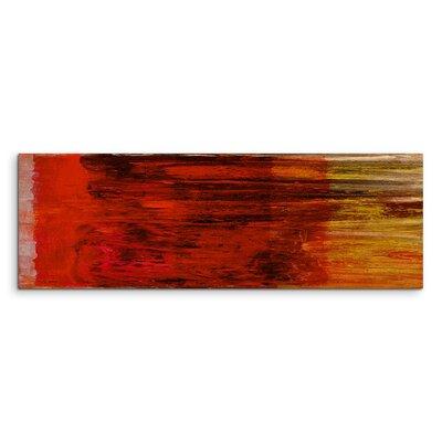 PaulSinusArt Enigma Panorama Abstrakt 994 Painting Print on Canvas