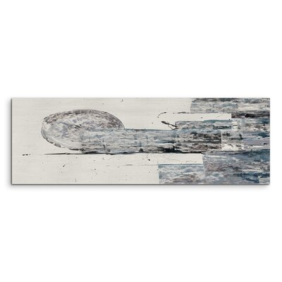 PaulSinusArt Enigma Panorama Abstrakt 998 Painting Print on Canvas