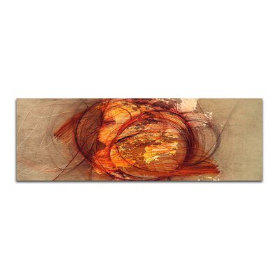 PaulSinusArt Enigma Panorama Abstrakt 231 Painting Print on Canvas