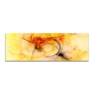 PaulSinusArt Enigma Panorama Abstrakt 233 Painting Print on Canvas