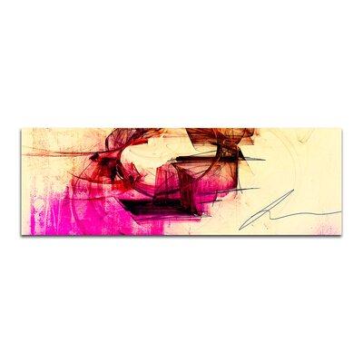 PaulSinusArt Enigma Panorama Abstrakt 235 Painting Print on Canvas