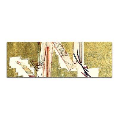 PaulSinusArt Enigma Panorama Abstrakt 236 Painting Print on Canvas