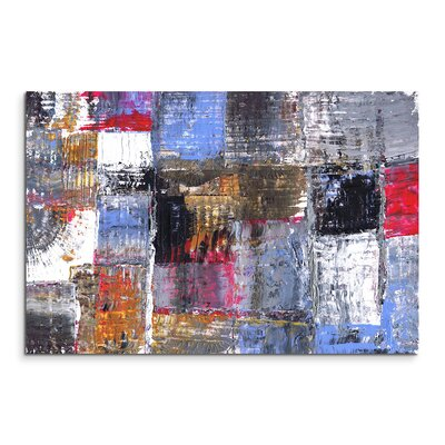 PaulSinusArt Enigma Abstrakt 941 Painting Print on Canvas