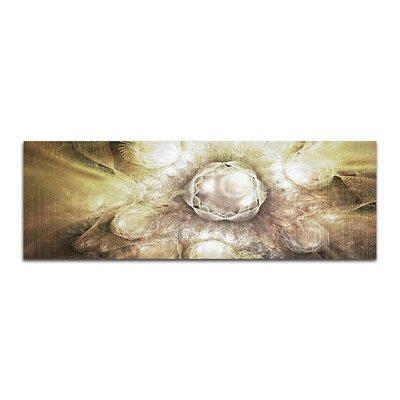PaulSinusArt Enigma Panorama Abstrakt 411 Painting Print on Canvas