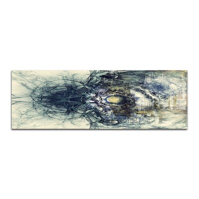 PaulSinusArt Enigma Panorama Abstrakt 412 Painting Print on Canvas