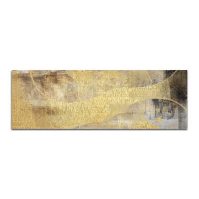 PaulSinusArt Enigma Panorama Abstrakt 413 Painting Print on Canvas