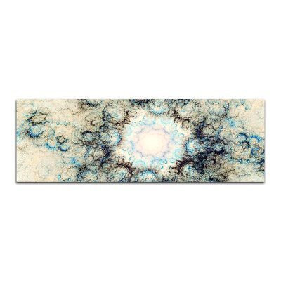PaulSinusArt Enigma Panorama Abstrakt 414 Painting Print on Canvas