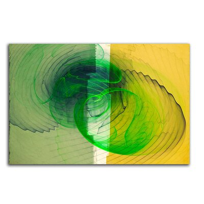 PaulSinusArt Enigma Abstrakt 150 Painting Print on Canvas