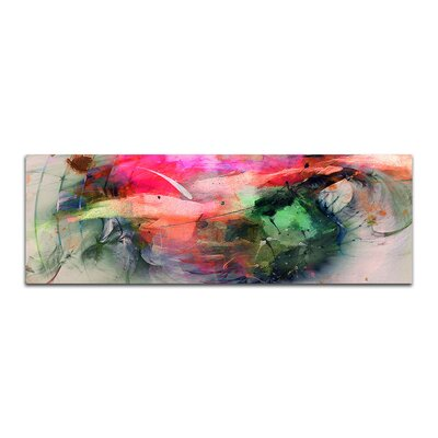 PaulSinusArt Enigma Panorama Abstrakt 419 Painting Print on Canvas