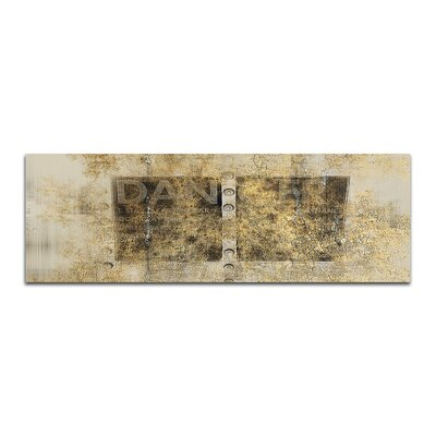 PaulSinusArt Enigma Panorama Abstrakt 420 Painting Print on Canvas