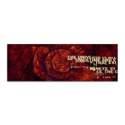 PaulSinusArt Enigma Panorama Abstrakt 421 Painting Print on Canvas